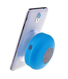 Mini Portable Waterproof Bluetooth Speaker Wireless Speaker For All Smartphones (Blue)